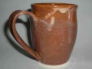 Unique Coffee Mug Handmade Stoneware Pottery Lendseypottery