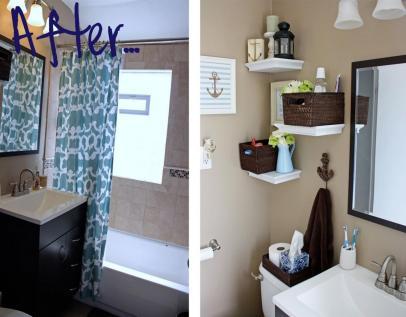Unique Diy Bathroom Wall Decor