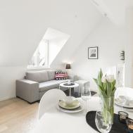 Unique Stockholm Attic Loft Apartment Stylish Modern