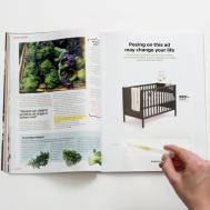 Unveils New Crib Also Pregnancy Test
