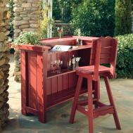 Uwharrie Chair Companion Bar Stool Outdoor Set Atg