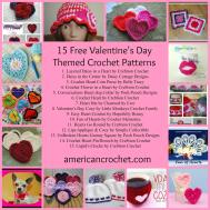 Valentine Day Crochet Patterns Squareone