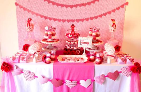 Valentine Decorations Share Love Day 2016 Party