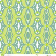 Vector Arabic Pattern Lime Jade Green Stock