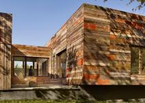Vernacular Inspired Delaware Home Built Recycled Barn
