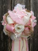 Vintage Baby Shower Mum Lace Bonbow