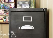 Vintage Cabinet Makeover Maison Pax