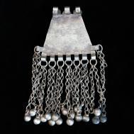 Vintage Ethnic Waziri Tribal Pendant Large Unique Focal