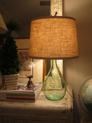 Vintage Finds Diy Bottle Lamp
