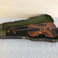 Vintage French Stradivarius Copy Violin Case
