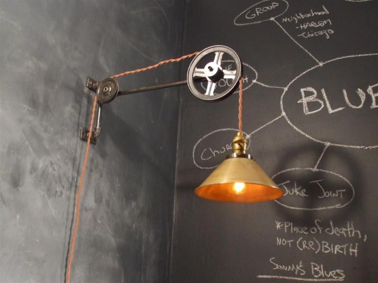 Vintage Industrial Style Pulley Lamp Storenvy