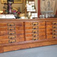 Vintage Oak Apothecary Cabinet Matt Jentry Home Design