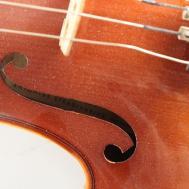 Vintage Stradivarius Replica Violin Case Bow Ebth