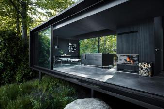 Vipp Introduces Fully Furnished Metal Prefabricated