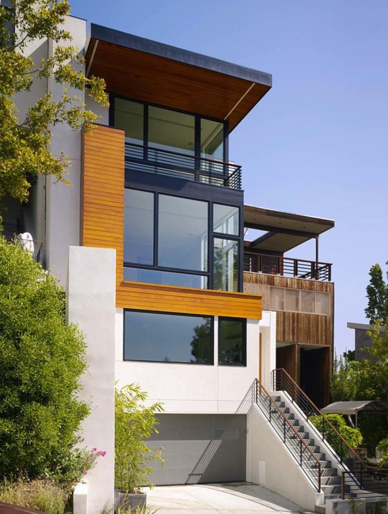 Visually Striking Open Airy Modern Home San Francisco
