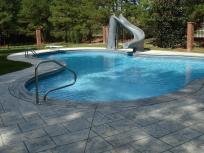 Water Slides Home Pools Backyard Design Ideas