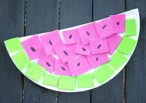 Watermelon Diy Kid Craft Darice