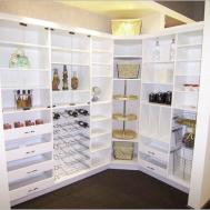 White Kitchen Pantry Cabinet Luxury Living Room Minimalist