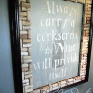 Wine Cork Artwork Tutorial Spot