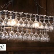 Wine Glass Chandelier Litecraft Lighting Your Home