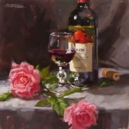Wine Painting Crafthubs Karen Werner Fine Art