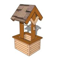 Wishing Well Planter Plans Outdoor Diy Shed