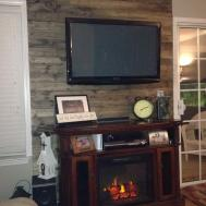 Wood Accent Wall Ash Bea Style