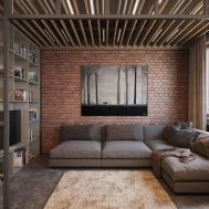 Wood Beam Ceiling Lights Interior Design Ideas