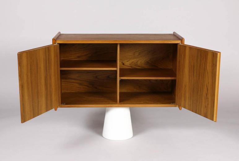 Wood Wall Mounted Shelf Cabinet Storage Decofurnish