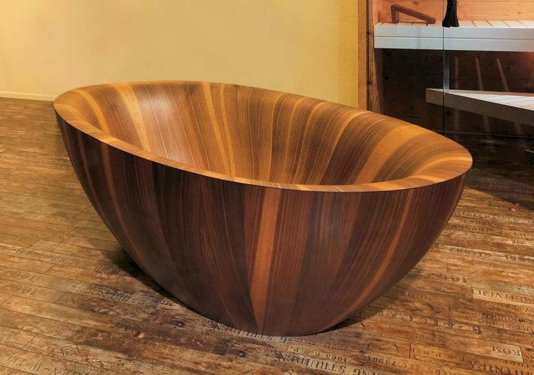 Wooden Bathtubs Modern Interior Design Luxury