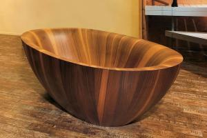 Wooden Bathtubs Modern Interior Design Luxury