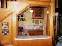 Wooden Mini Bar Understairs Idea Home Ideas