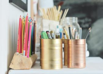 Wooden Pencil Holder Diy Crafts