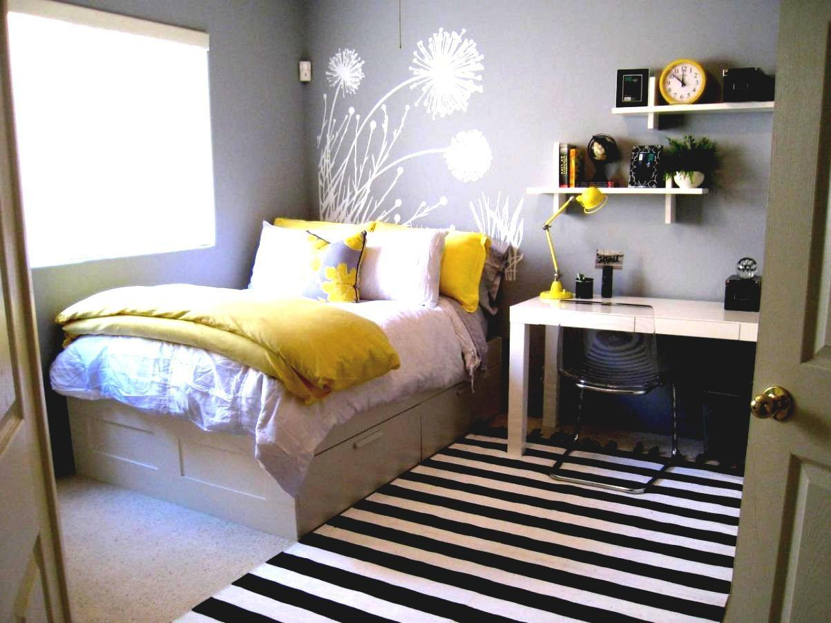 Yellow Gray Bedroom Decorating Ideas Decor Decoratorist 58938
