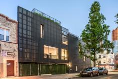Young Projects Extends Brick Townhouse Brooklyn