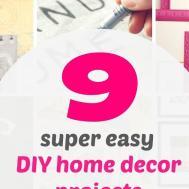 Zen Shmen Super Easy Diy Home Decor Projects Can