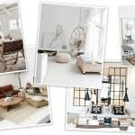 Before After Rustic Scandinavian Living Room Design