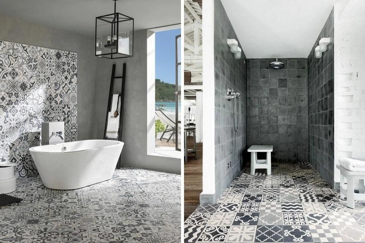 pushhome net 20 bathroom tile ideas