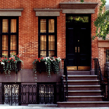 home exteriors - exterior townhouse  lovely Greenwich village townhouse  home exterior