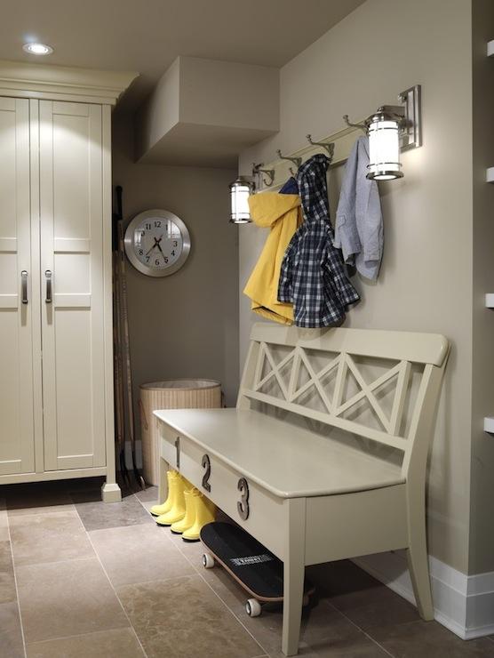 Mud Room Design Cottage Laundry Room Ici Dulux Toast