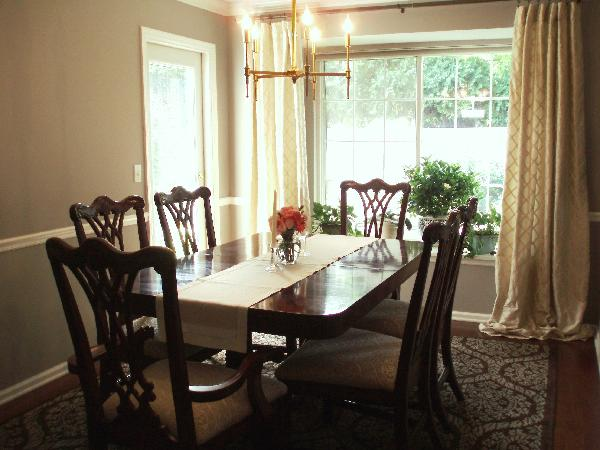 Dining Rooms Chair Rail Design Ideas