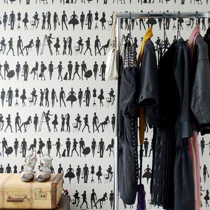 Black And White Fashion Wallpaper