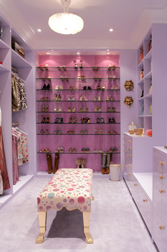 Shelves For Shoes Contemporary Closet Drake Design
