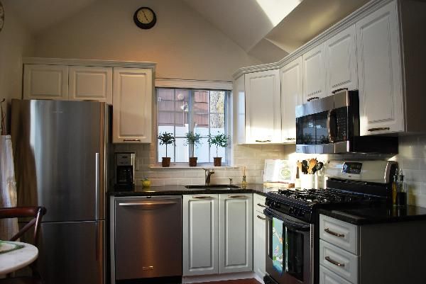 White Upper Cabinets Gray Lower Cabinets Transitional Kitchen Benjamin Moore Gray Horse
