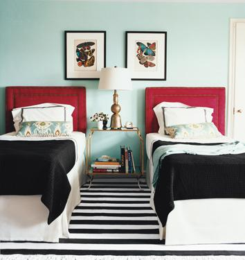 Red Headboards