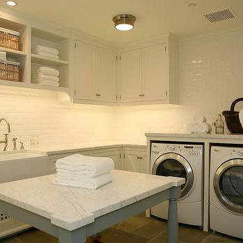 Laundry Room Farmhouse Sink Design Decor Photos
