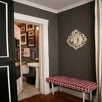 Chocolate Brown Walls Design Decor Photos Pictures