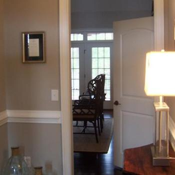 Beige Walls Contemporary Living Room Benjamin Moore Shale Martha OHara Interiors