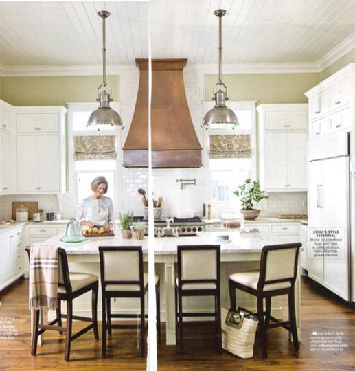 Copper Range Hood Cottage Kitchen Urban Grace Interiors
