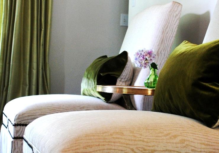 Green Velvet Design Ideas